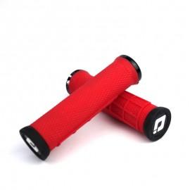 Odi Elite Flow No Flange Lock On Grip 130Mm Red