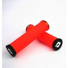 Odi Elite Flow No Flange Lock On Grip 130Mm Orange
