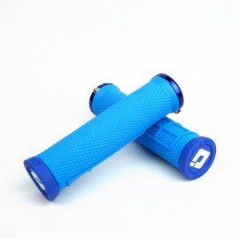 Odi Elite Flow No Flange Lock On Grip 130Mm Lt Blue