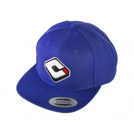 Odi Snap Back Logo Hat Blue