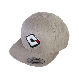 Odi Snap Back Logo Hat Heater Gray