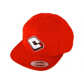 Odi Snap Back Logo Hat Red
