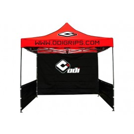 Odi Folding Canopy (10'X10' Steel Folding Canopy W/ Backwall And Sides)