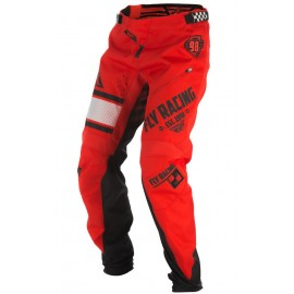Fly Kinetic Era Bicycle Pant Red/Blk