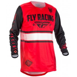 Fly Kinetic Era Jrsy Red/Blk
