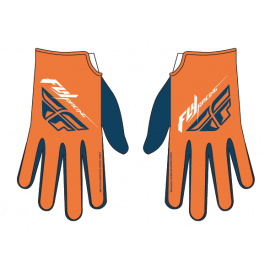 Fly Mtb Media Glove Org/Navy/Wht