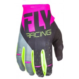 Fly Kinetic Glv Pnk/Blk/Hi-Vis