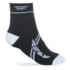 Fly Action Sock Wht/Blk