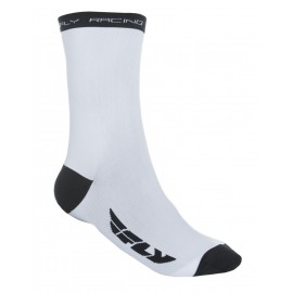 Fly Crew Sock Wht/Blk