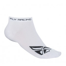 Fly No Show Sock Wht/Blk