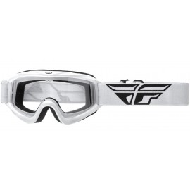 Fly Goggle Focus White Clear Lens
