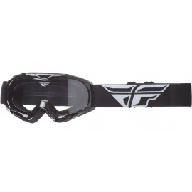 Fly Goggle Focus Youth Blk Clear Lens
