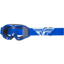 Fly Goggle Focus Youth Blue Clear Lens