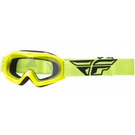 Fly Goggle Focus Youth Hi-Vis Clear Lens