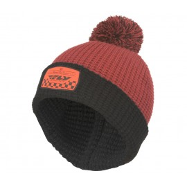 Fly Drift Beanie Burgundy/Black