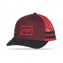 Fly Huck It Hat Red/Burgandy
