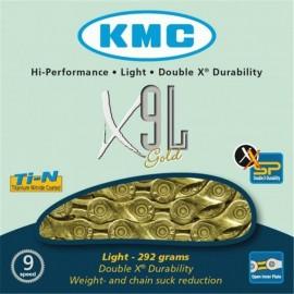 Kmc X9L 3/32 Gold