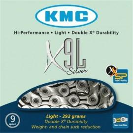 Kmc X9L 3/32  Silver