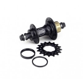 Stay Strong Rear Cassette Hub Bolt In 6 Pawls Black 28H