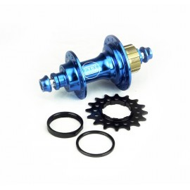 Stay Strong Rear Cassette Hub Bolt In 6 Pawls Blue 28H