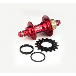Stay Strong Rear Cassette Hub Bolt In 6 Pawls Red 28H