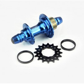 Stay Strong Rear Cassette Hub Pro Bolt In 6 Pawls Blue 36H