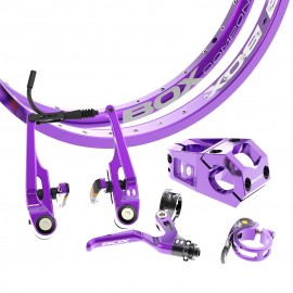 Box Bmx Limited Edition Kit Pro Royal Purple