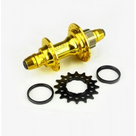 Stay Strong Rear Cassette Hub Pro Bolt In 6 Pawls Gold 36H
