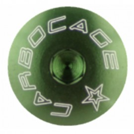 Carbocage Alloy Chainring Bolts Green