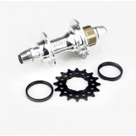 Stay Strong Rear Cassette Hub Pro Bolt In 6 Pawls Polished 36H