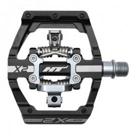 Ht X-2 Clip Pedal Black