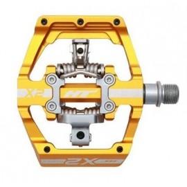 Ht X-2 Clip Pedal Gold