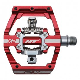 Ht X-2 Clip Pedal Red