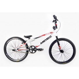 Meybo 2017 Clipper Comp Bike Chrome(Painted)/Black/Red