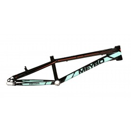Meybo Holeshot Frame 2017 Black/Turqouise/Orange