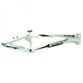 Yess Bmx Race Frame Type X Grey