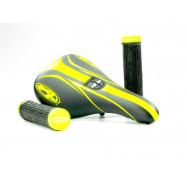 Answer Pro Pivotal Seat - Grip Combo Neon Yellow