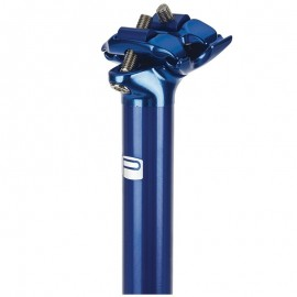Promax Sp-1 26 Degree 2 Bolt Alloy Post 400Mm Blue
