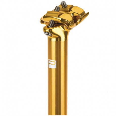 Promax Sp-1 26 Degree 2 Bolt Alloy Post 400Mm Gold