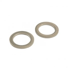 Universal Pedal Washer Set Steel 20,8 - 15 - 2Mm