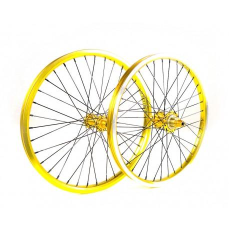 Stay Strong 'Evolution' Race  Wheelset Gold