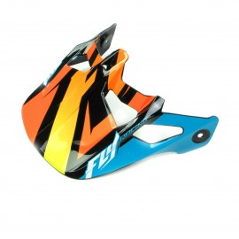 Fly Werx Mips Rival Visor Teal/Orange/Black