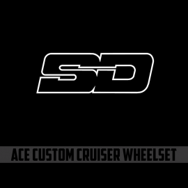 Sd Ace Custom Cruiser 10Mm Wheelset