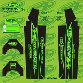 Answer Fork Wraps Flo Green