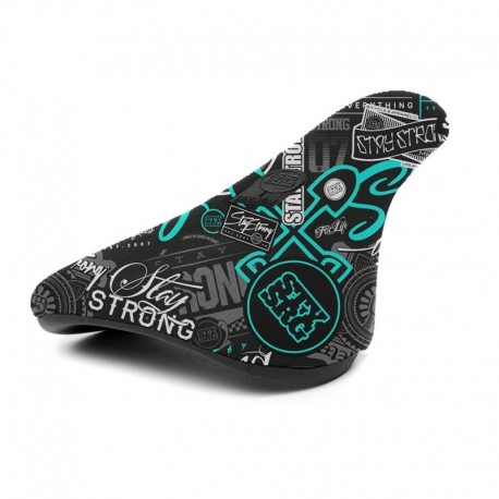 Stay Strong 'Mash Up' Padded Slim Pivotal Teal