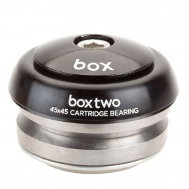 "Box Two  Alloy Sealed Integrated 45X45 1"" Headset Black"