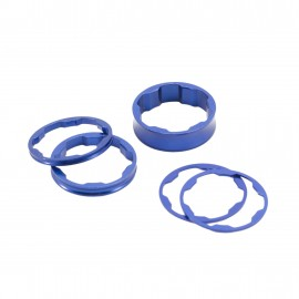 Box Two Center Clamp Stem Spacer 10,5,3,1(2Pcs)Mm Blue