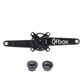 Box Four Cold Forged 2Pc Crankset 24 X Black