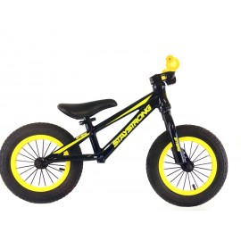 Stay Strong Alloy Balance Bike Black/Yellow