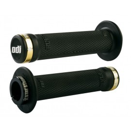 Stay Strong Odi Ruffian Flange Lock On Grip Black/Black-Gold